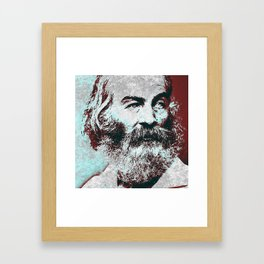 Walt Whitman Framed Art Print
