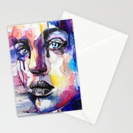 Colored soul Stationery Cards