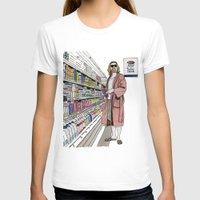 milk T-shirts featuring Jeffrey Lebowski and Milk. by DJayK