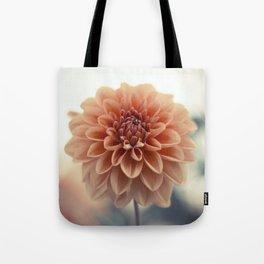 Dahlia Flower Tote Bag