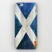 scotland iPhone & iPod Skins featuring Scotland by Arken25