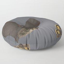 Brown Long-eared Bat Floor Pillow