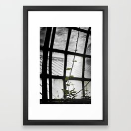 and i will climb Framed Art Print