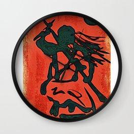 Onna Shinobi (Lady Ninja) Wall Clock