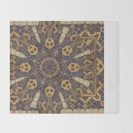 Mandala - The Night Bazaar Throw Blanket