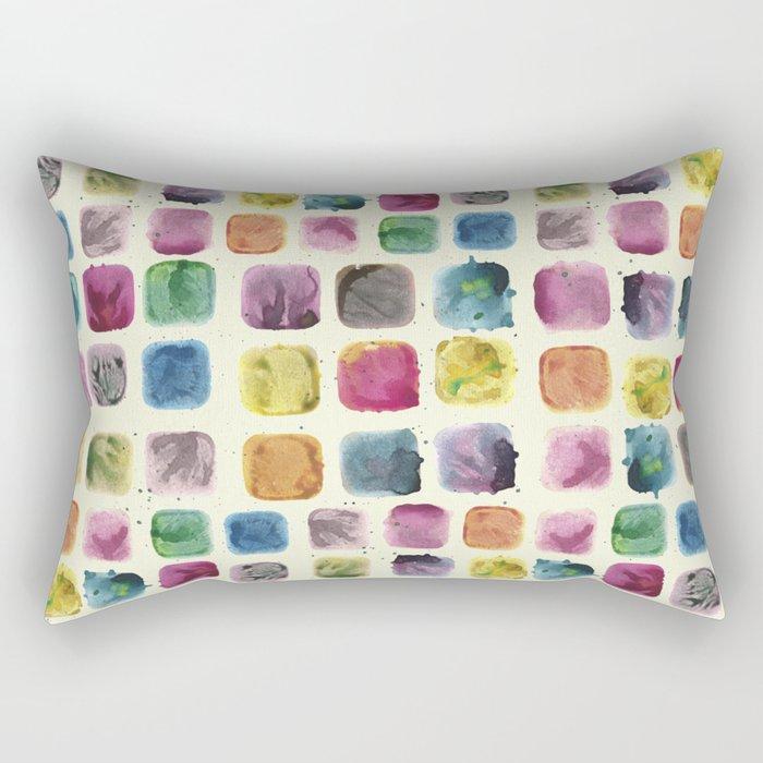 Colors in Suspension02 Rectangular Pillow