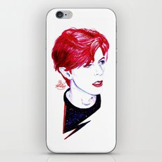 The Stars Look Very Different Today // Bowie iPhone & iPod Skin