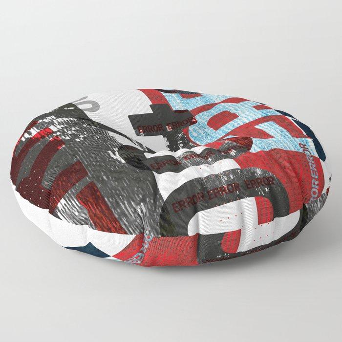 004 ERROR Floor Pillow