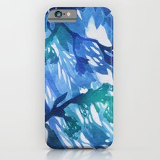 Morning Blossoms 2 - Blue Variation iPhone 6s Slim Case