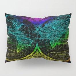 world map old vintage Pillow Sham