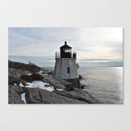 Castle Hill Lighthouse, Newport Rhode Island Canvas Print