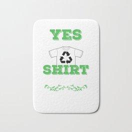 Recycle Shirt Bath Mat