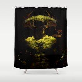 Heathen rite Shower Curtain