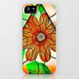 Trapped Daisy iPhone Case