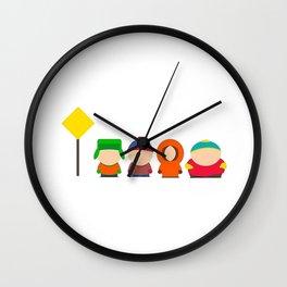 South Cast Park Wall Clock