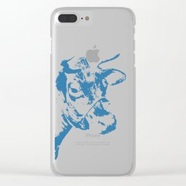 Follow the Blue Herd #154 Clear iPhone Case