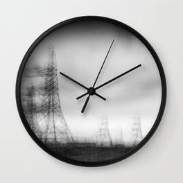Dungeness Electricity Wall Clock