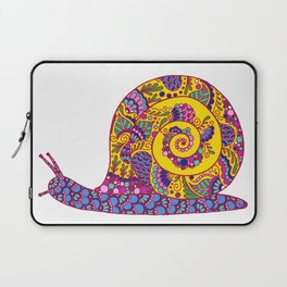 Colorful Snail Laptop Sleeve