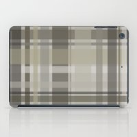 plaid iPad Cases featuring Plaid by GoAti