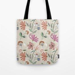 Monday Floral Tote Bag