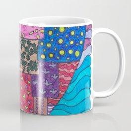 Patchwork Heart Coffee Mug