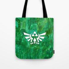 Zelda Triforce Painting Tote Bag