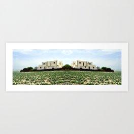 Architectural Horizon Art Print