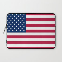 Flag of USA - American flag, flag of america, america, the stars and stripes,us, united states Laptop Sleeve
