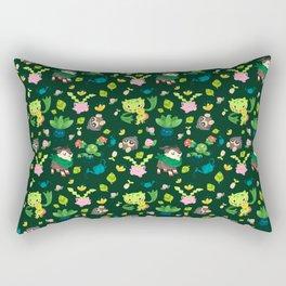 Razor Leaf Rectangular Pillow
