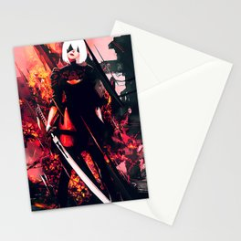 Nier Automata Stationery Cards