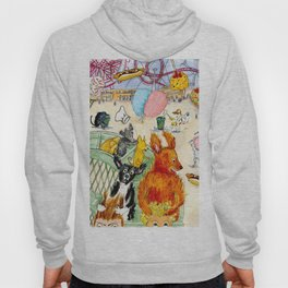 The Dogs Take Over Coney Island Hoody