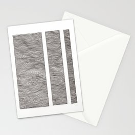 Wave Columns Stationery Cards