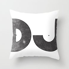 DJ Throw Pillow