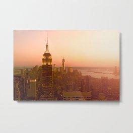 Empire State Building, Manhattan, NYC Skyline, I Love New York, Cityscape Metal Print