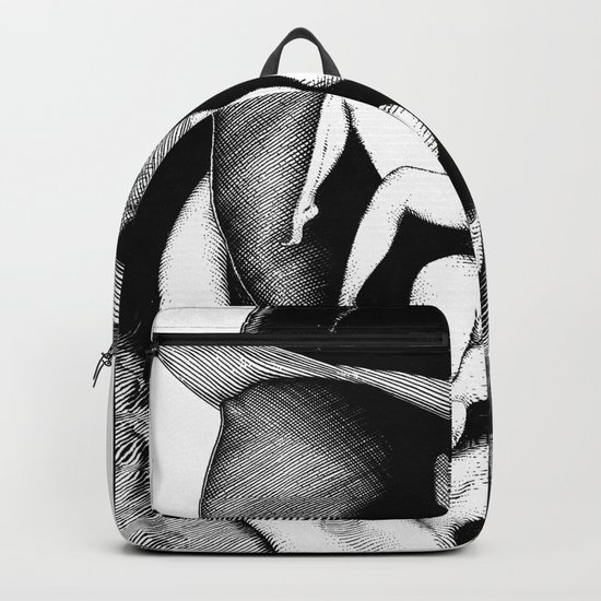 asc 747 - Le Rorschach (You are what you see) Backpack