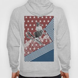 Ski like a Girl for USA Hoody