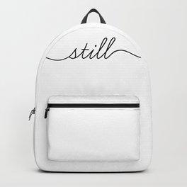 be still (2 of 2) Backpack