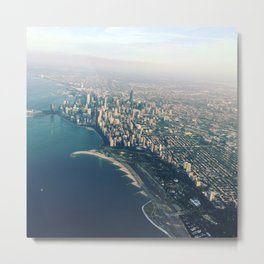 First Stop Chicago Metal Print