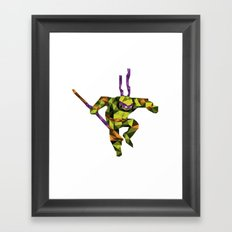 Bo Staff Turtle Framed Art Print