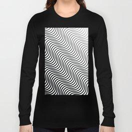Whiskers Black #399 Long Sleeve T-shirt