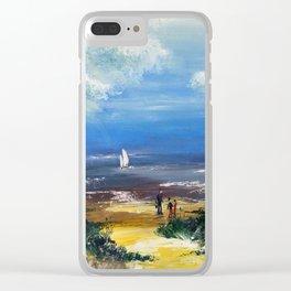 A marée basse Clear iPhone Case