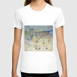 A day off at the beach - 1800s  T-shirt