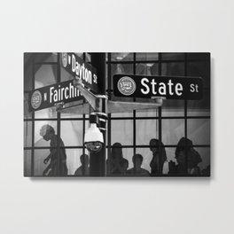 Fairchild, Dayton, and State Streets Metal Print
