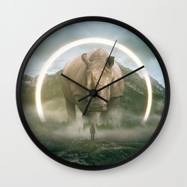 aegis   rhino Wall Clock