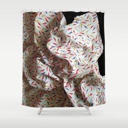 CHILLI HANDKY Shower Curtain