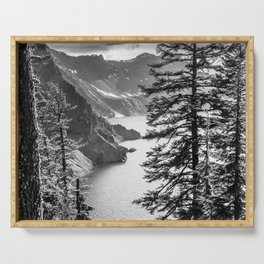 Forest Lake Retreat - Crater Lake Serving Tray