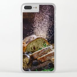 Fresh Bread Thanksgiving (Color) Clear iPhone Case