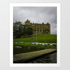 Linlithgow Palace and Peel Art Print