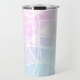 Pastel Triangles 1 Travel Mug