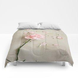 Pink Carnation Comforters